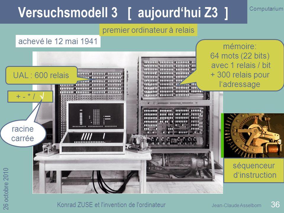 Versuchsmodell 3 [ aujourd'hui Z3 ]